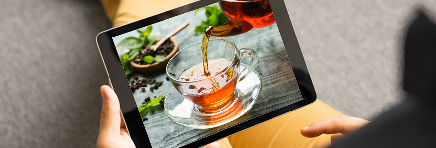Amateur de thé