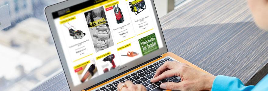 outil de bricolage en ligne