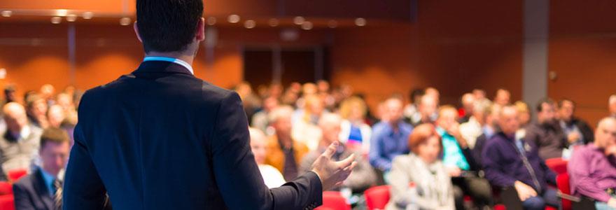 Organisation de séminaires et d'événements pour professionnels