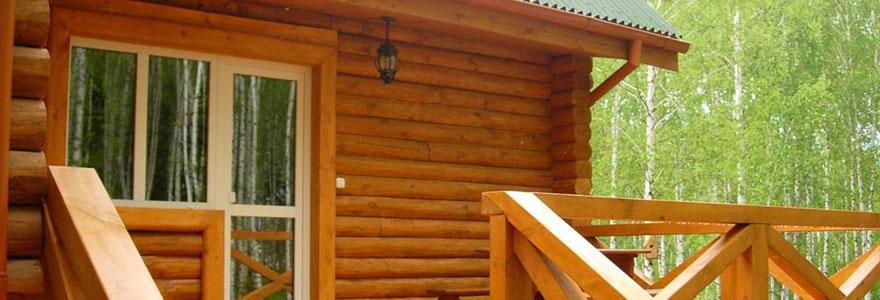 maison à toit plat en ossature bois