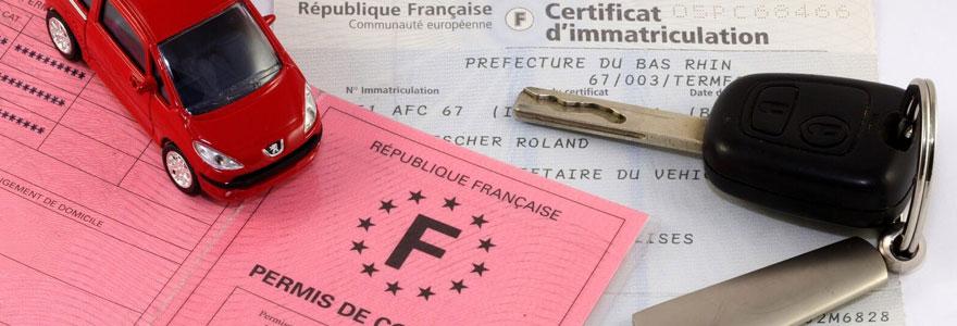 Permis et papiers d-identite français
