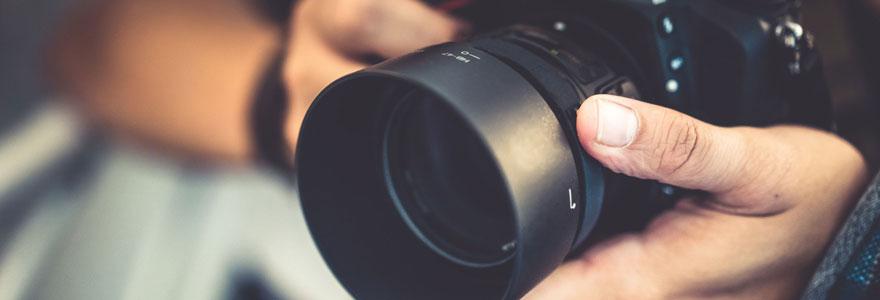 un photographe spécialisé